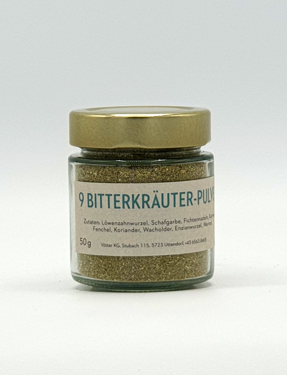 9 Bitterkräuter Pulver